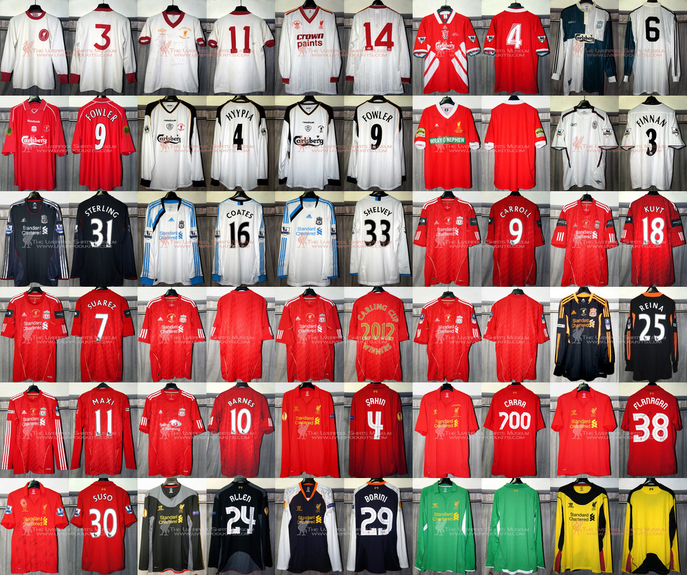 Additions to the Liverpool Shirts Museum - Page 26 2012shirts