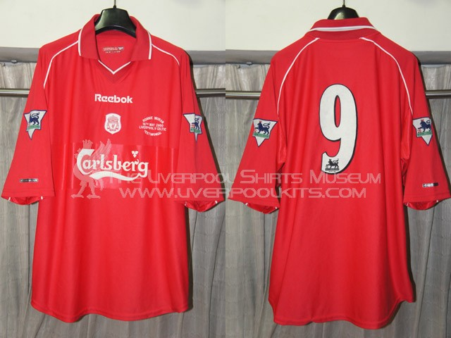 Liverpool 2000 Ronnie Moran Testimonial Player Shirt