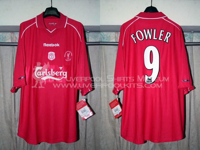 brand new 2189d ecc13 The Liverpool Shirts Museum: 2000s Replica Shirts (Episode I)