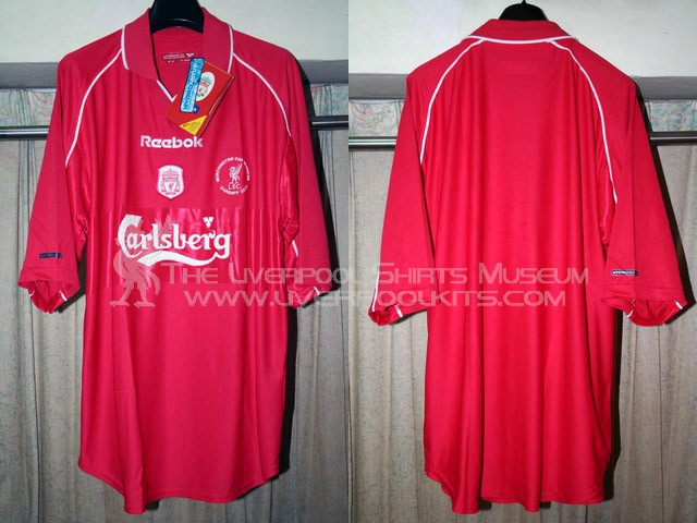 brand new 3bd68 5c937 The Liverpool Shirts Museum: 2000s Replica Shirts (Episode I)