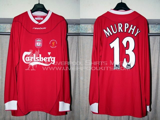 online retailer 4190f 02e3e The Liverpool Shirts Museum: 2000s Player Shirts Episode 2