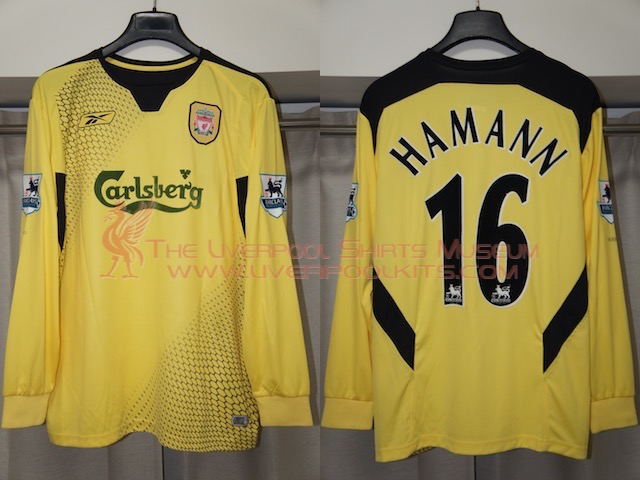 Liverpool 2004-2005 Away Replica Shirt