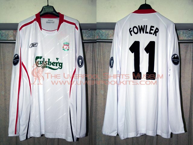 Liverpool 2005-2006 Away Replica Shirt