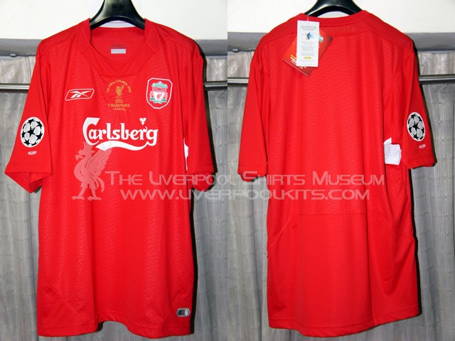new arrival 99159 6916a The Liverpool Shirts Museum: 2000s Replica Shirts (Episode 2)