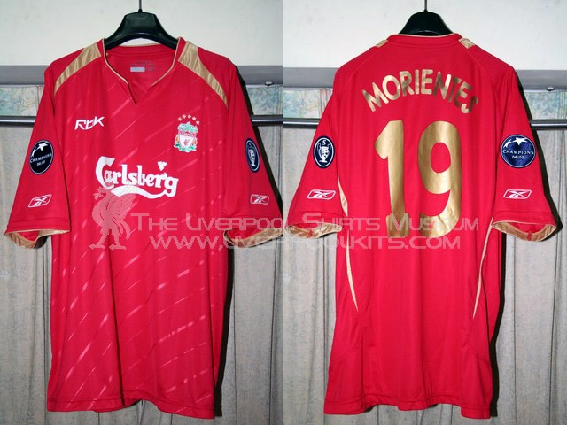 Liverpool 2005-2006 Champions League Home Replica Shirt