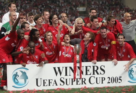 Liverpool had a 3-1 win over CSKA Moskva with goalscorers Cisse(82',13'Ex.) and Luis Garcia (19'Ex.)