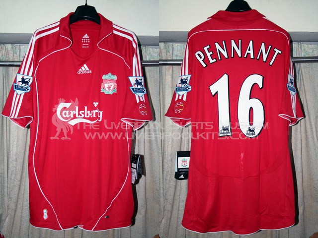 Liverpool 2006-2007 Home Replica Shirt