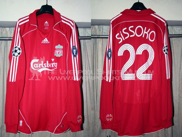 Liverpool 2006-2007 Champions League Home Replica Shirt