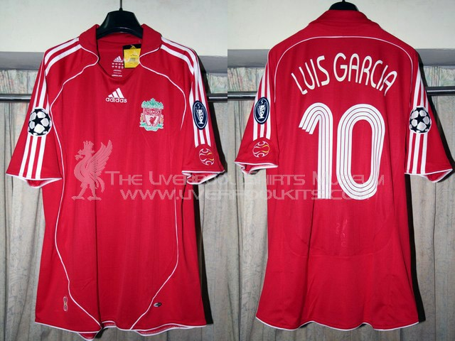 Liverpool 2006-2007 Champions League Home Replica Shirt (non-sponsored version)