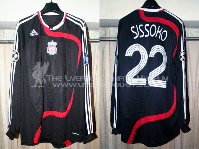 2b1c9fee70f The Liverpool Shirts Museum  2007-2008 Third Champions League Player Shirt  (No Carlsberg)