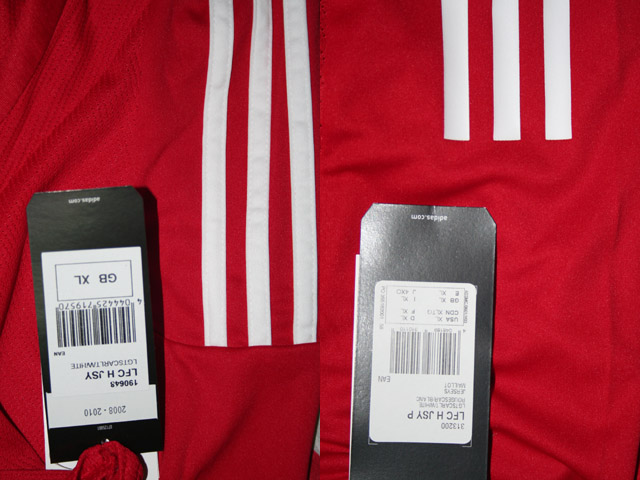 Additions to the Liverpool Shirts Museum LFC08HNCP-c