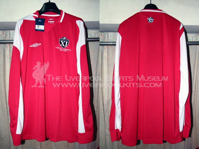 Additions to the Liverpool Shirts Museum LFC08L