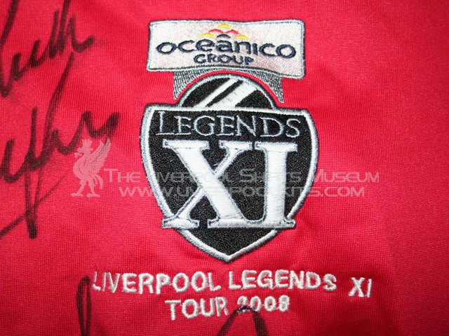 Additions to the Liverpool Shirts Museum LFC08LP-a