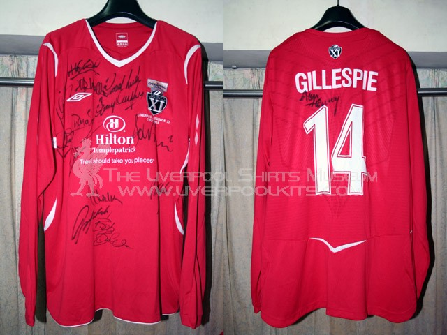 Additions to the Liverpool Shirts Museum LFC08LP14