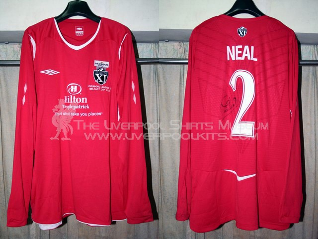 Additions to the Liverpool Shirts Museum LFC08LP2