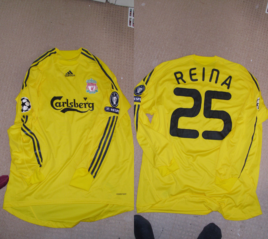 Additions to the Liverpool Shirts Museum - Page 15 LFC09GKCLP25