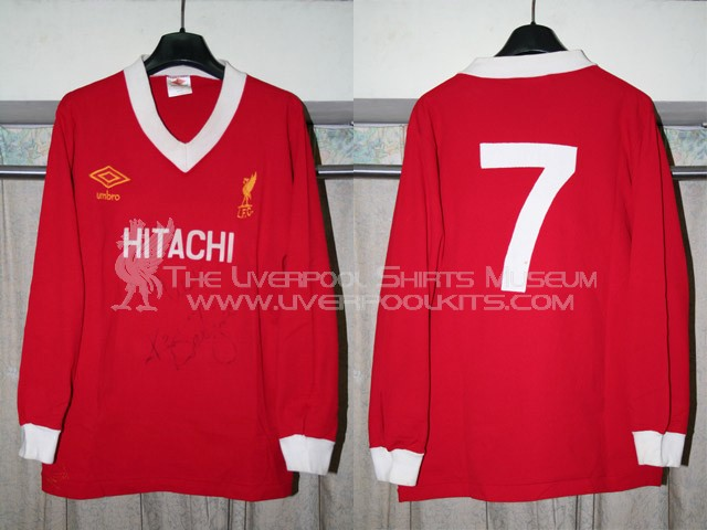 Liverpool Kit 1980 Liverpool 1979-1980 Home