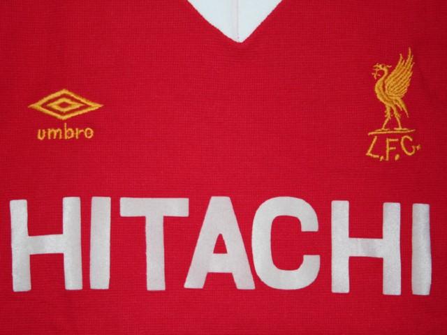 Liverpool Kit 1980 Liverpool 1980-1981 Home