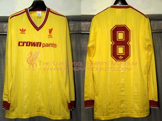 competitive price 7df72 0cda9 The Liverpool Shirts Museum: 1985-1986 Liverpool Third ...