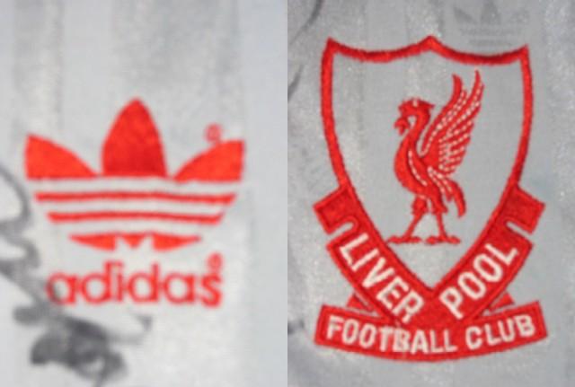 As usual, club crest and manufacturer motif are both embroidered into the shirt for genuine player shirt.