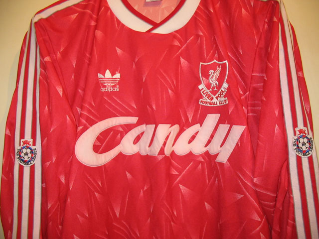 f3a827db2 Typical 80s Liverpool adidas era player shirts are characterised by having  the beautiful embroideries. Left  Liverpool club crest is embossed on the  replica ...