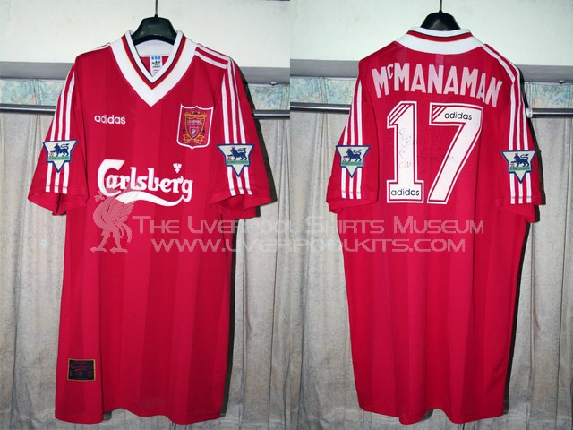 best service 1bf81 c88e3 The Liverpool Shirts Museum: 1990s Player Shirts Epsiode II