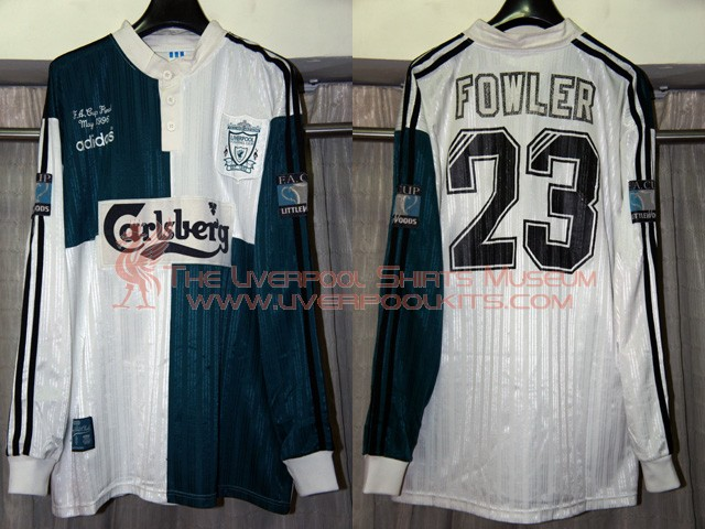 best service 60d27 46c59 The Liverpool Shirts Museum: 1990s Player Shirts Epsiode II