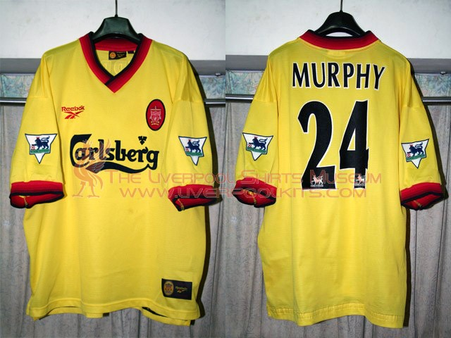 1657ae41699 The Liverpool Shirts Museum  1990s Player Shirts Epsiode III