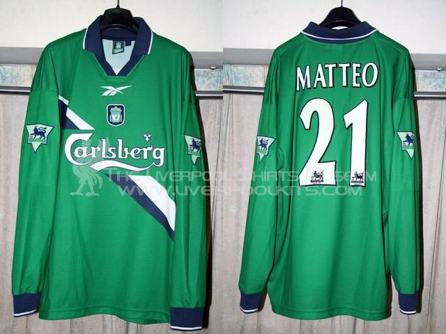 best service d781a 32015 The Liverpool Shirts Museum: 1999-2000 Away Player Shirt ...