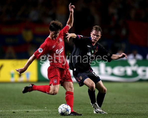 Xabi Alonso was one of the starting line-up players.