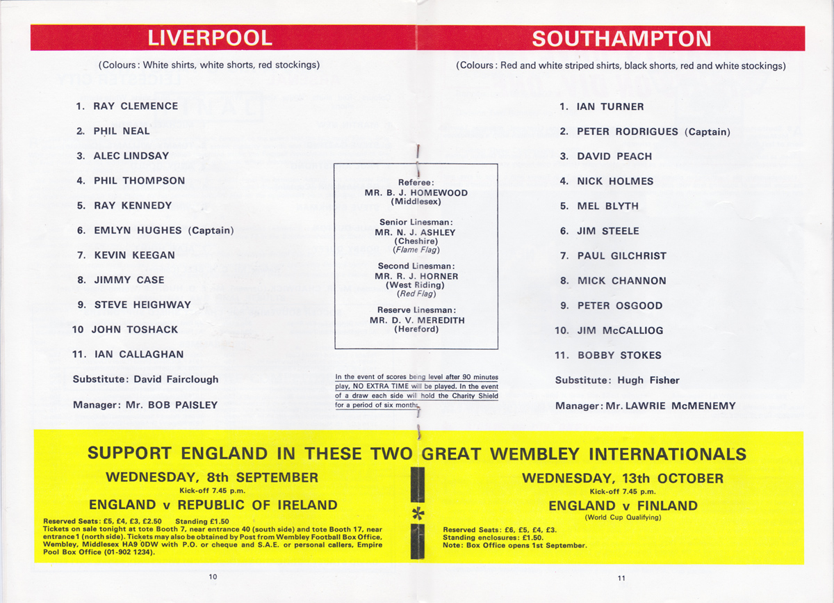 Additions to the Liverpool Shirts Museum - Page 23 Charityshield1976-programme-b