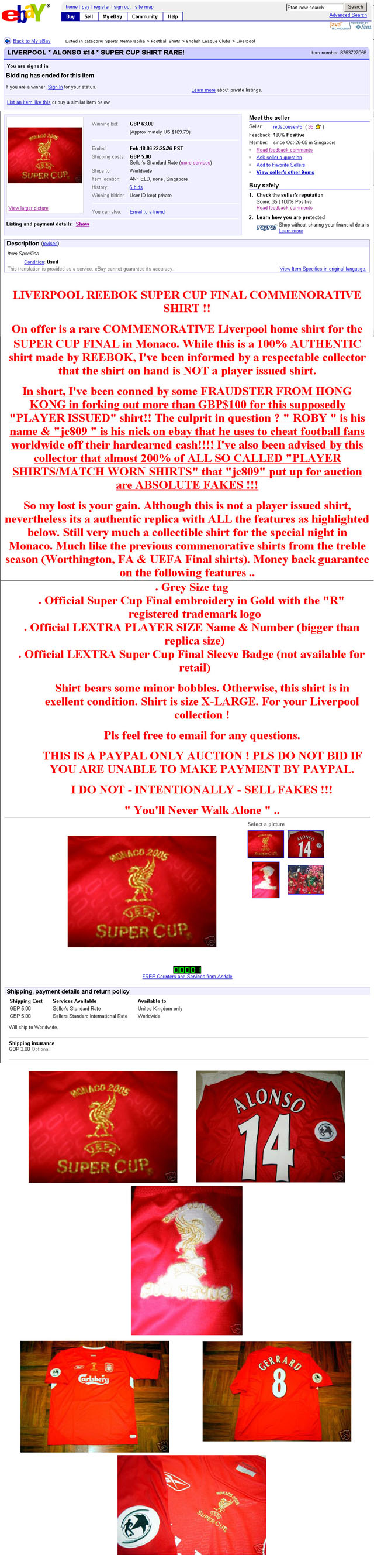 Fakes Alert!! Click to enlarge!!