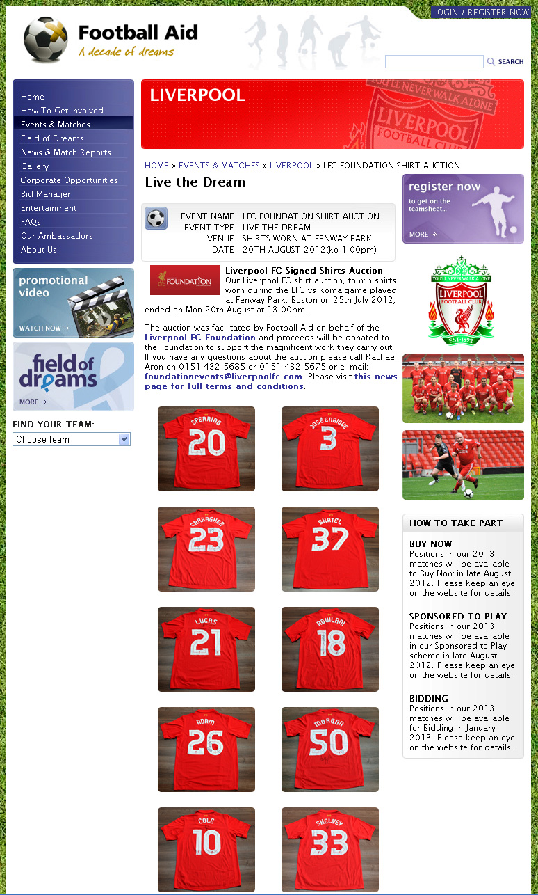 Additions to the Liverpool Shirts Museum - Page 25 Lfcfoundationauction2012