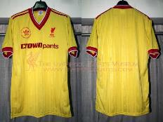 734dca871 Liverpool 1985-1986 Third Player Shirt (single-line Crown Paints version)